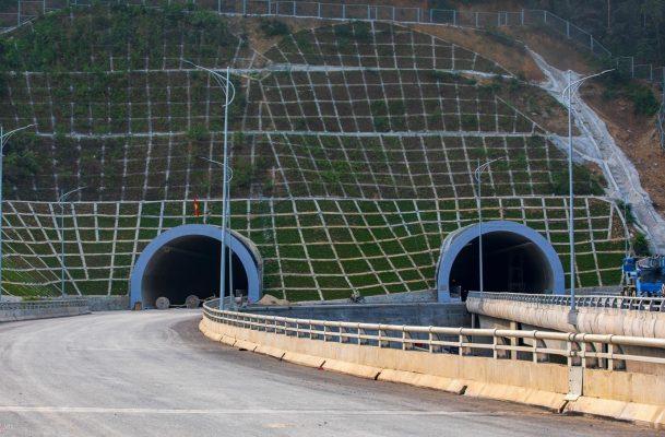 Hai nhánh hầm Mũi Trâu đã hoàn thành, đang trong giai đoạn lắp đặt hạng mục phụ trợ.