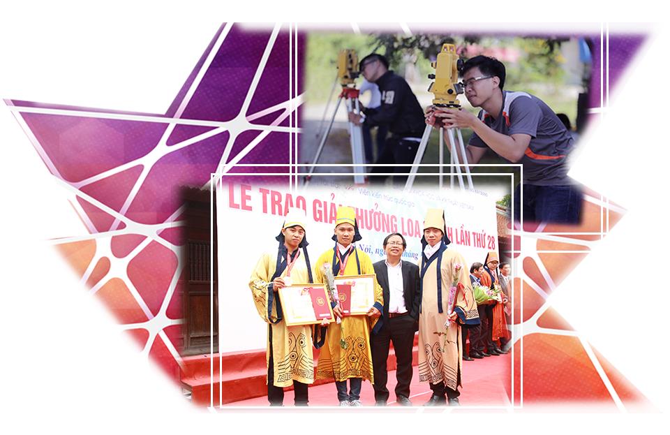 Sinh viên Duy Tân dành giải thưởng trong cuộc thi Loa thành