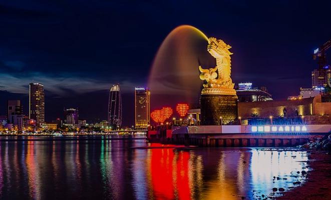 Đà Nẵng là thành phố sở hữu nhiều công trình kiến trúc độc đáo và ấn tượng.