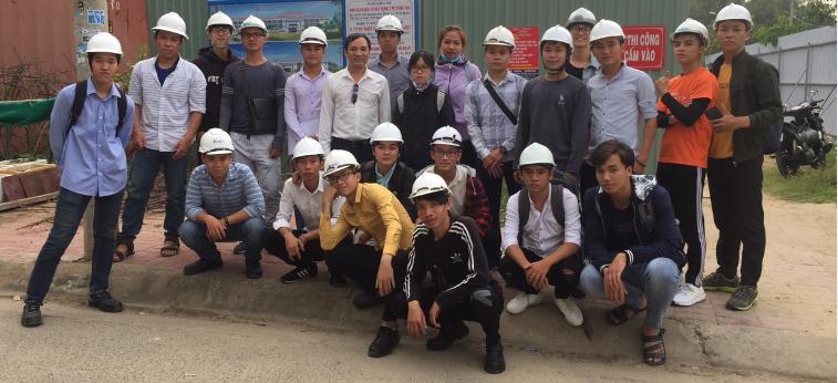 Sinh viên ngành Xây dựng