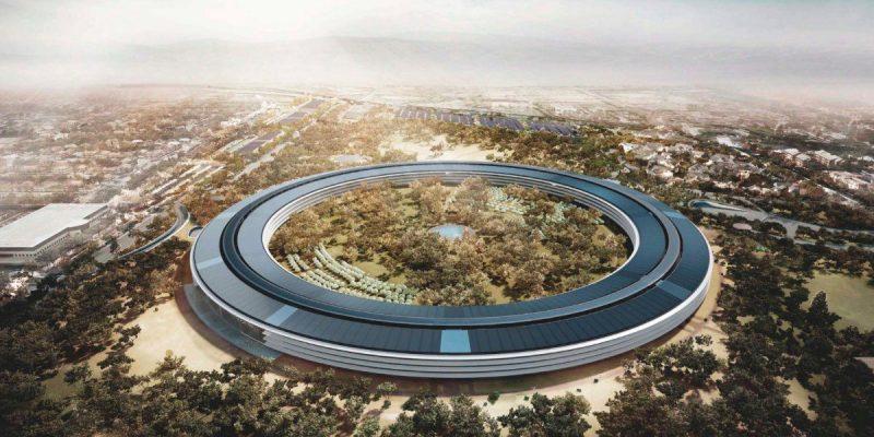 Đây là bản vẽ trụ sở Apple của kiến trúc sư từ khi bắt đầu khởi công vào năm 2013.