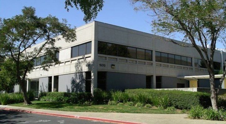 Khu đất xây dựng Apple Park từng là nhà máy sản phẩm tiên tiến của HP trước khi Apple mua lại tòa nhà vào năm 2013.