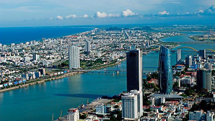 Một góc đô thị Đà Nẵng.