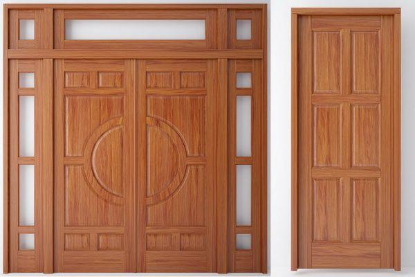 Lựa chọn gỗ làm cửa