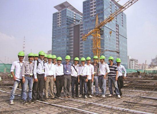Chọn ngành Xây dựng là ngành học khi bước chân vào giảng đường đại học