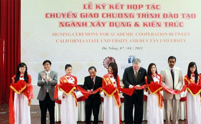 Chương trình học Ngành Xây dựng Dân dụng và Công nghệ chuẩn CSU tại Đại học Duy Tân